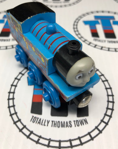 Birthday Thomas (2003) Wooden - Used - Totally Thomas Town