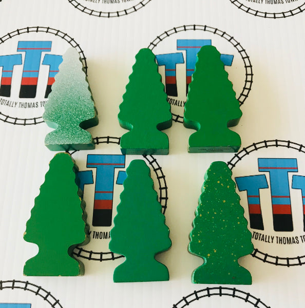 Thomas Brand Wooden Trees Pack - Used - Totally Thomas Town