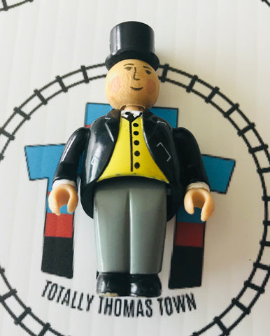 Sir Topham Hatt 3D Rare Wooden - Used - Totally Thomas Town