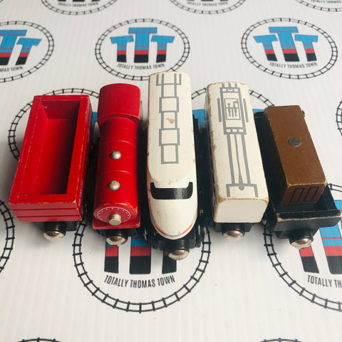 Train Value Pack Other Brand Wooden - Used