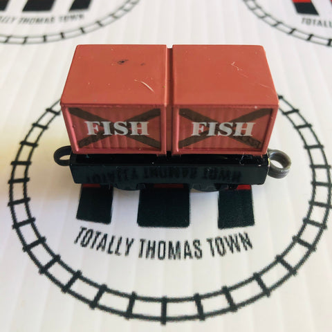 Fish Crate Pull Along Capsule Plarail - Used