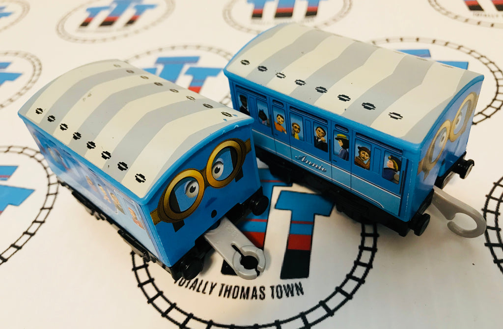 Blue Annie and Blue Clarabel (2013) Used - Trackmaster - Totally Thomas Town