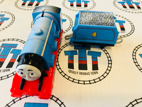 Snowy Storm Gordon & Tender (2013) Good Condition Used - Trackmaster - Totally Thomas Town