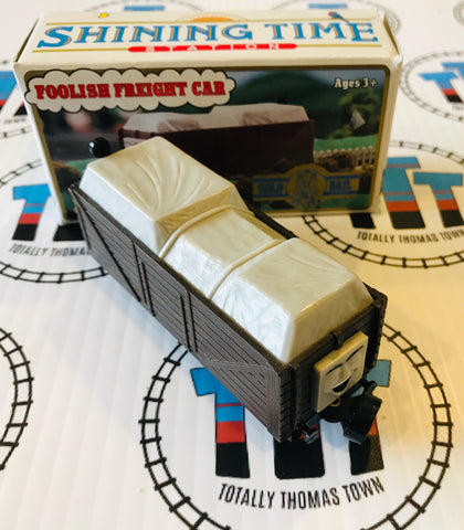 Foolish Freight Car Troublesome Truck (1992) Very Good Condition with Box ERTL Gold Rail - Used
