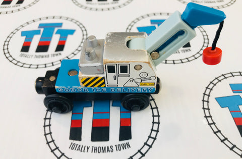 Ice Crane Car (2003) Wooden - Used - Totally Thomas Town