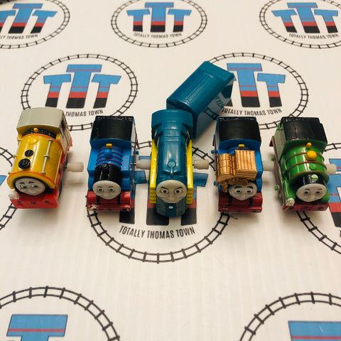 Capsule Plarail Wind Up Train Pack (See Notes) - Used