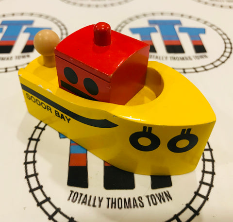 Sodor Bay Tug Boat Good Condition Wooden - Used