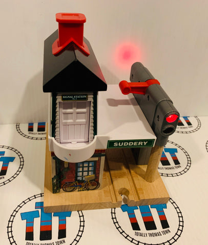 Suddery Signal Station Good Condition Wooden - Used