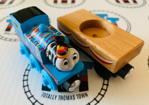 Happy Birthday Thomas Missing Cake (2012) Good Condition Wooden - Used