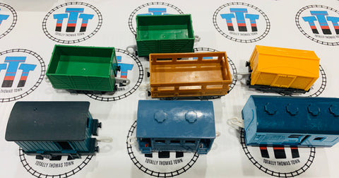 Cargo Pack 7 Pieces Used - Trackmaster