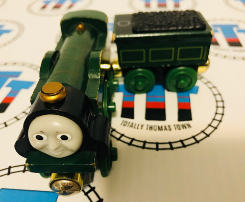 Engine Recognition Emily & Tender (2003) Good Condition Wooden- Used - Totally Thomas Town