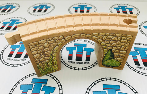 Arched Viaduct Clickity Clack Track 1 Piece - Used - Totally Thomas Town