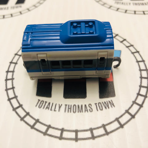 Blue & Grey Coach Pull Along Capsule Plarail - Used
