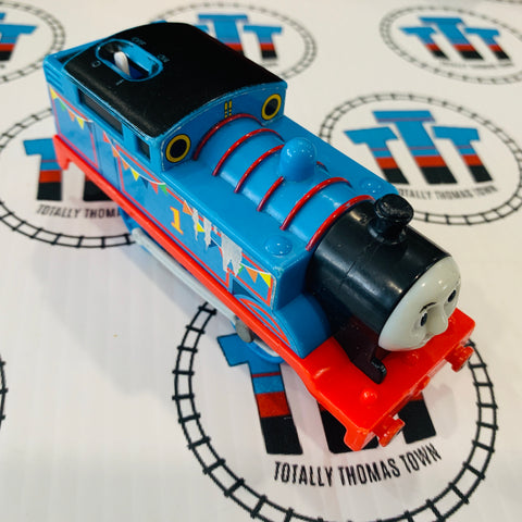 Thomas With Banners (2009) Ripped Sticker Used - Trackmaster