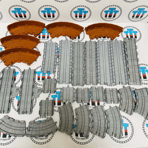 Assorted Track Pack (28pieces) Used - Take N Play