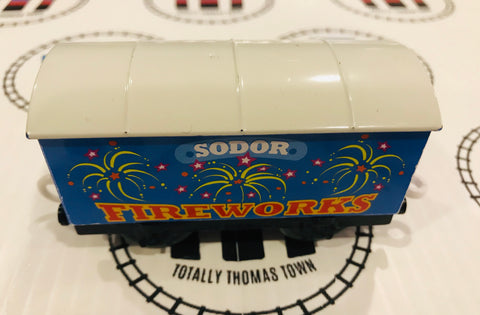 Sodor Fireworks Cargo Car Used - Trackmaster