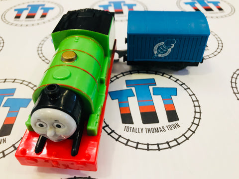 Talking Percy and Cargo (2014) Good Condition Used - Trackmaster - Totally Thomas Town