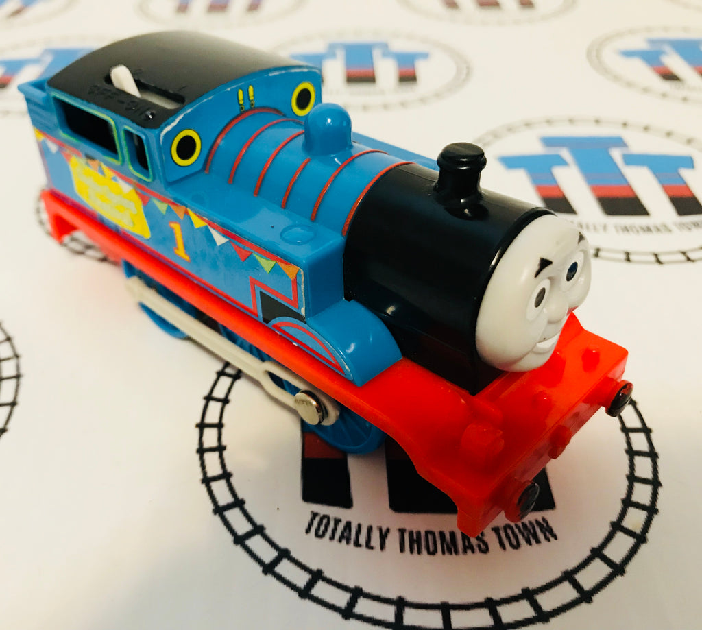 Spring Festival Thomas (2009) Good Condition Used - Trackmaster - Totally Thomas Town