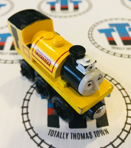 Proteus with Working Light (2003) Good Condition Wooden - Used - Totally Thomas Town