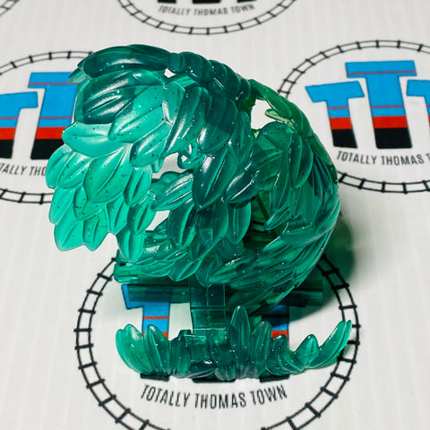 Clear Glitter Jungle Tunnel Capsule Plarail - Used