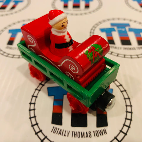 Santa's Delivery Coach (2012) Good Condition Wooden - Used