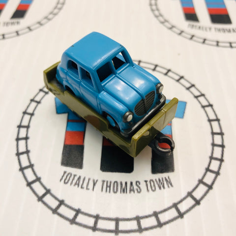 Flatbed & Sir Topham Hatt's Car Pull Along Capsule Plarail - Used