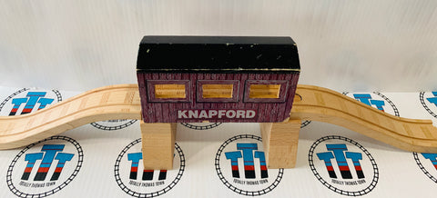 Knapford Covered Bridge Tunnel with Track Fair Condition Wooden - Used
