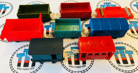 Cargo Pack 8 Pieces Used - Trackmaster - Totally Thomas Town