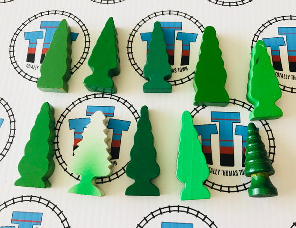 Other Brand Wooden Trees Pack - Used - Totally Thomas Town