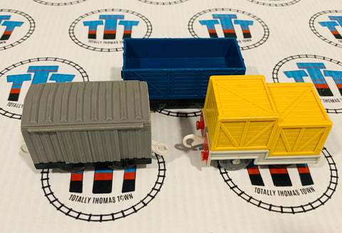 Assorted Cargo Car Value Pack Used - Trackmaster