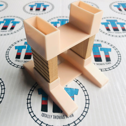 Build-a-Stacking Riser Clickity Clack Wooden - Used