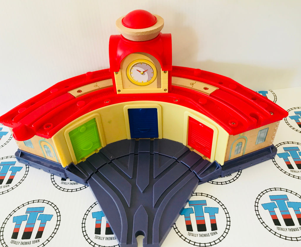 Chuggington Roundhouse Wooden - Used - Totally Thomas Town