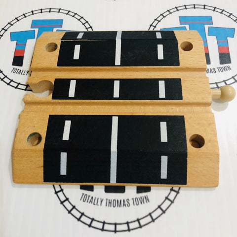 Black Crossing Track Wooden - Other Brand