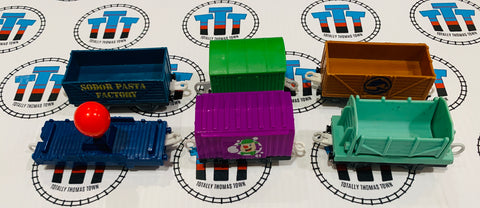 Fun Cargo Cars Value Pack Used - Trackmaster