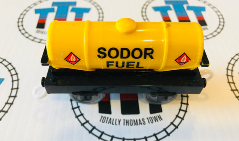 Sodor Fuel Tanker Good Condition Used - Trackmaster - Totally Thomas Town