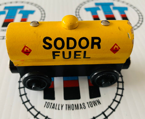 Sodor Fuel Tanker (2001) Fair Condition Wooden - Used