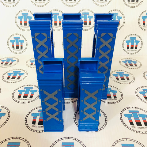 Blue Riser Pack 5 Pieces Plastic Other Brand - Used