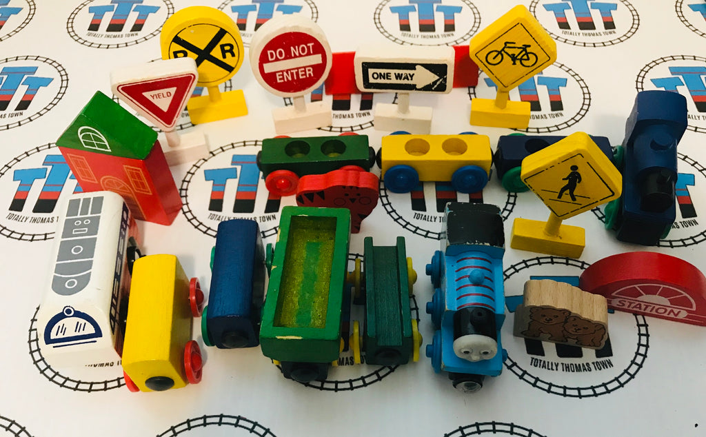 Train Value Pack Wooden - Used - Totally Thomas Town