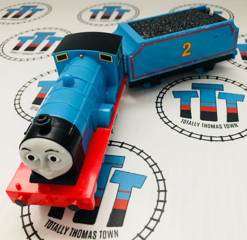 Edward with Tender Talking Good Condition Used - Trackmaster - Totally Thomas Town
