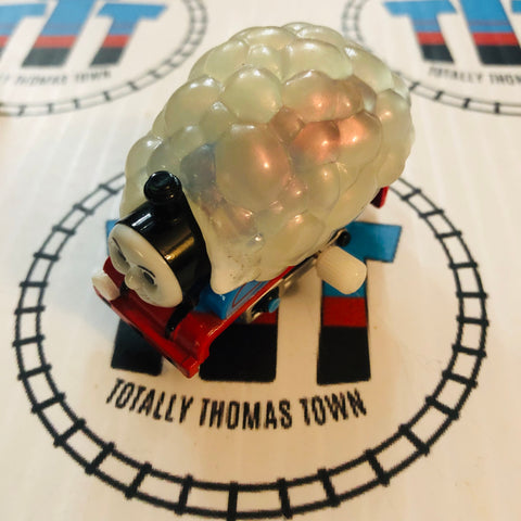 Bubble Covered Thomas Capsule Plarail Wind Up - Used