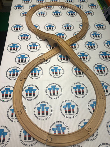 Other Brand Figure 8 Set Wooden - Used