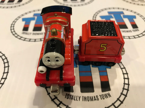 James & Tender Talking Good Condition Used - Take N Play - Totally Thomas Town