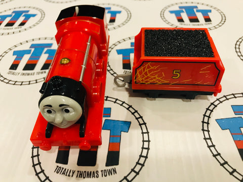 Troublesome Traps James & Tender (2013) Mattel Used - Trackmaster