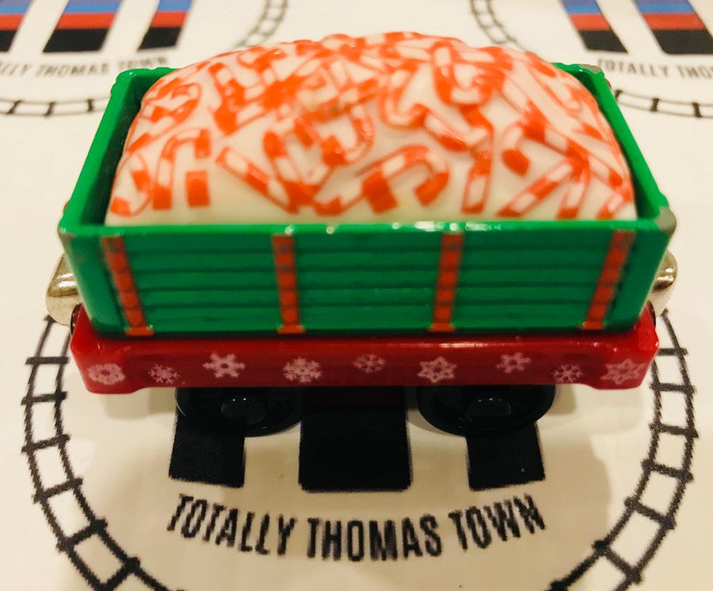 Candy Cane Car (2003) Good Condition Used - Take N Play - Totally Thomas Town