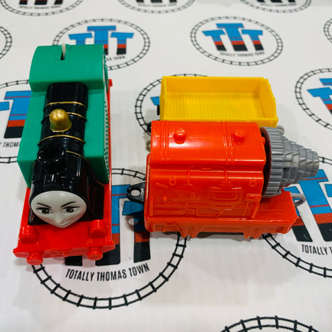 Gina and Cargo Car (2013) Good Condition Used - Trackmaster