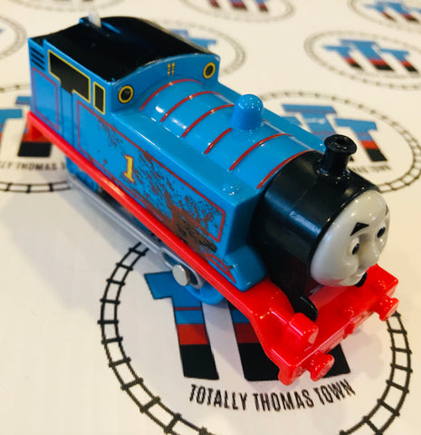 Mud Covered Thomas (2013) Good Condition Used - Trackmaster