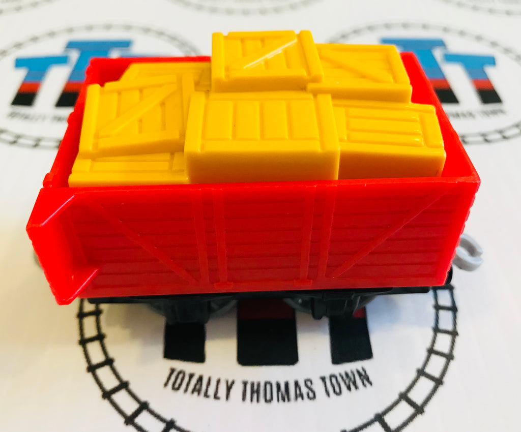 Cargo Car with Cargo Used - Trackmaster - Totally Thomas Town