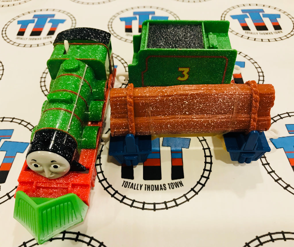 Snow Clearing Henry (2009) Good Condition Used - Trackmaster - Totally Thomas Town