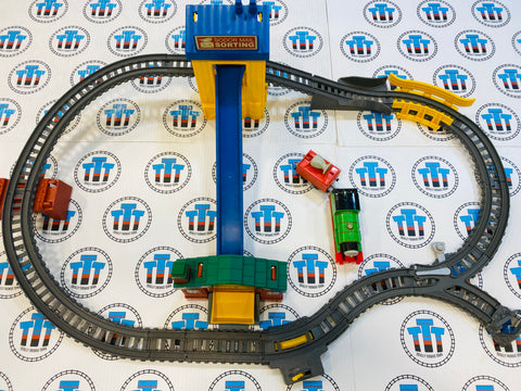 Sort and Switch Delivery Set with Percy & Mail Car Used - Trackmaster