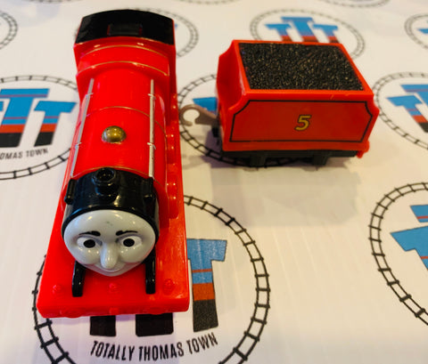 James & Tender Talking (2014) Good Condition Used - Trackmaster